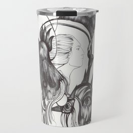 Retrato de Sirena Travel Mug
