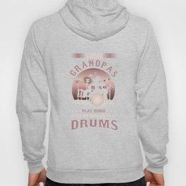 Drummers Music Lovers Drumming Musicians Real Grandpa Play Drums Gift Hoody