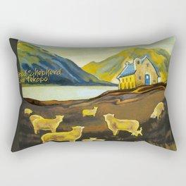 The Good Shepherd, Lake Tekapo Rectangular Pillow