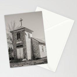 Community Church, Hingham, Montana Stationery Cards