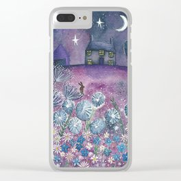 Watching the Stars Clear iPhone Case