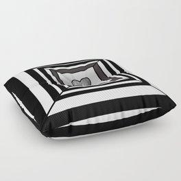 heart maze . Floor Pillow