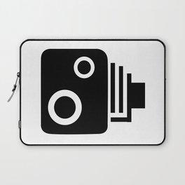 Isolated Speed Camera Laptop Sleeve