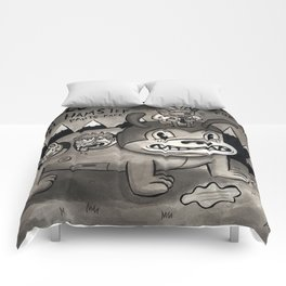 Hamster Pants-Face Comforters
