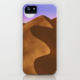 At night in the desert iPhone Case