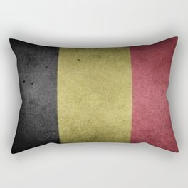 Belgium Flag Rectangular Pillow