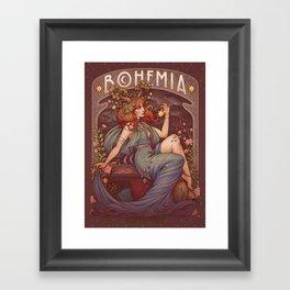 BOHEMIA Framed Art Print