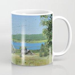 cabin - by phil art guy Coffee Mug