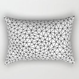 Lots of Freaking Triangles Rectangular Pillow