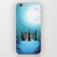 coven iPhone & iPod Skins featuring Witch Coven by Annya Kai