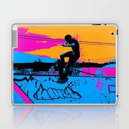 On Edge - Skateboarder Laptop & iPad Skin