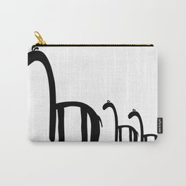 Family of Giraffes Carry-All Pouch