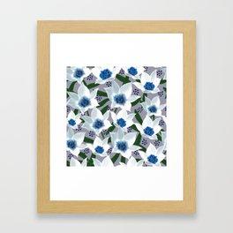 Blue Jean Baby Framed Art Print