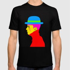 Mr. Colors Black Mens Fitted Tee SMALL