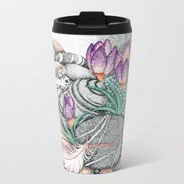 Angel Feathers Travel Mug
