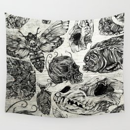Bones and Co Wall Tapestry