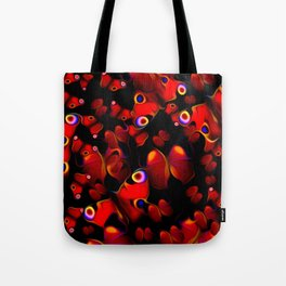 Breathless, Fluttering Tote Bag
