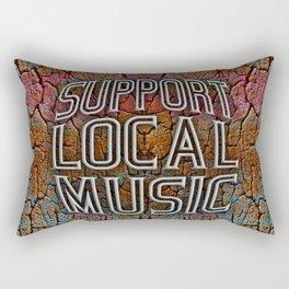 Support Local Music Rectangular Pillow
