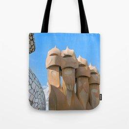 Gaudi Series - Casa Milà No. 3 Tote Bag