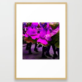 just dance Framed Art Print