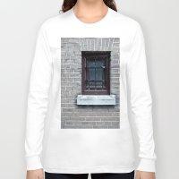 window Long Sleeve T-shirts featuring Window by Marieken