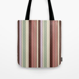 vertical stripes. Tote Bag