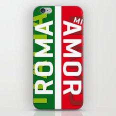 Roma Mi Amor. Italia Italy Travel Print Poster iPhone & iPod Skin