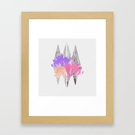 Freesia Framed Art Print