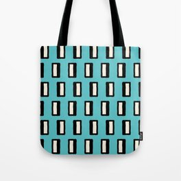 Chad Pattern Turquoise 2 Tote Bag