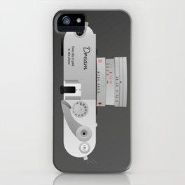 The dream Camera. Leica iPhone Case