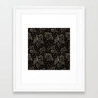 constellation Framed Art Prints featuring Constellation by Cryptovolans