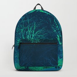 Wanderlust Psychedelic Forest (blue-green) Backpack