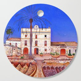 Joan Miro House with Palm Tree Cutting Board
