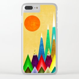 Peaks XIX Clear iPhone Case