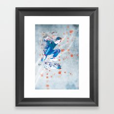 Ride North Framed Art Print