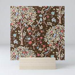 """William Morris """"Kelmscott Tree"""" 3. Mini Art Print"""