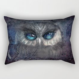 MOON BLINKED Rectangular Pillow