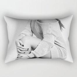 Fashion Illustration - Viviana Rectangular Pillow