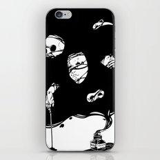 Tinta Negra iPhone & iPod Skin