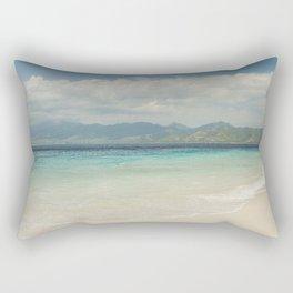 Gili meno island beach Rectangular Pillow