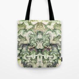 Abstract graphic mirror 6 Tote Bag