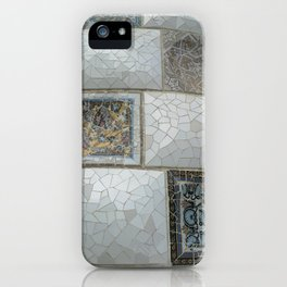 Park Guell Mosaique Detail iPhone Case