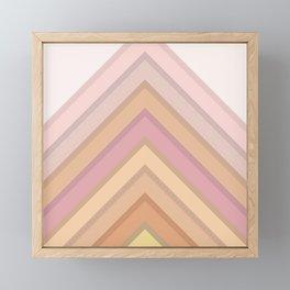 Pastel Peaks Framed Mini Art Print