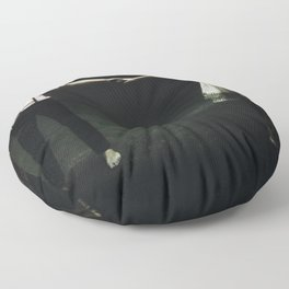 abyss of the disheartened : IX Floor Pillow