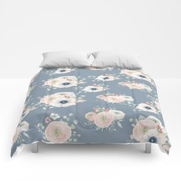 Dog Rose Pattern 3 Comforters