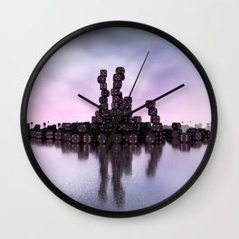 it's not Domino-day today Wall Clock