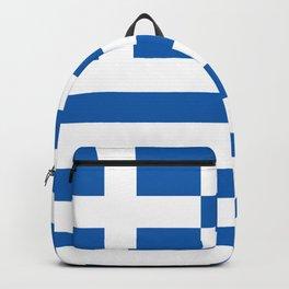 Greek flag Backpack