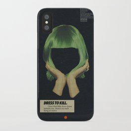 Dress To Kill iPhone Case