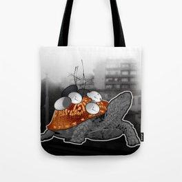 Urban Communication Turtle Tote Bag