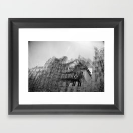 how it feels to say goodbye Framed Art Print